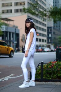 Girl dressed in all white dream meanings