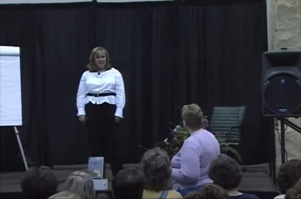 The Dream Analyst presents at the Women's Conference, Minneapolis Convention Center